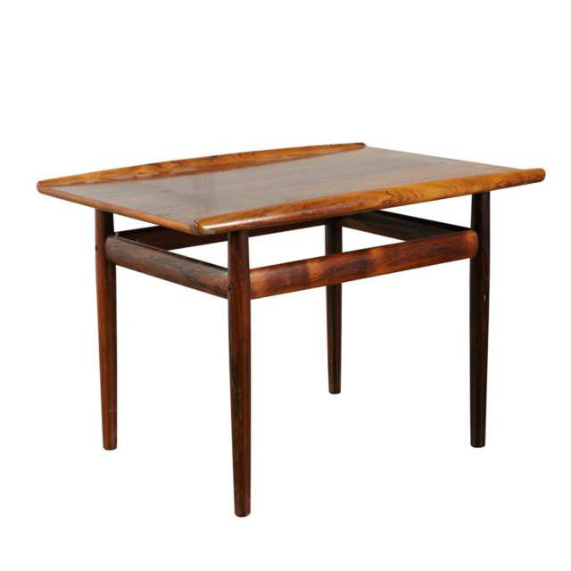 Scandinavian Rosewood End Table,