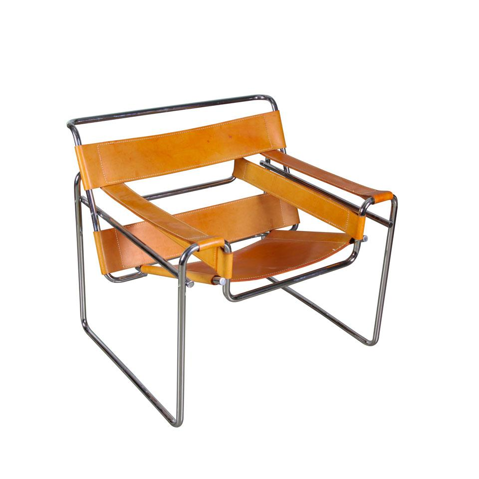 Pair of Marcel Breuer  Wassily Chairs,