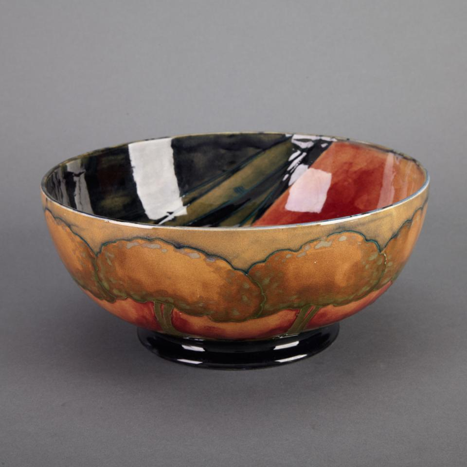 Moorcroft Eventide Bowl, c.1925