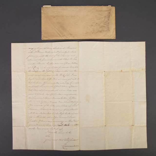 Commander Alexander Dobbs to Commodore Sir James L. Yeo, 17th August, 1814