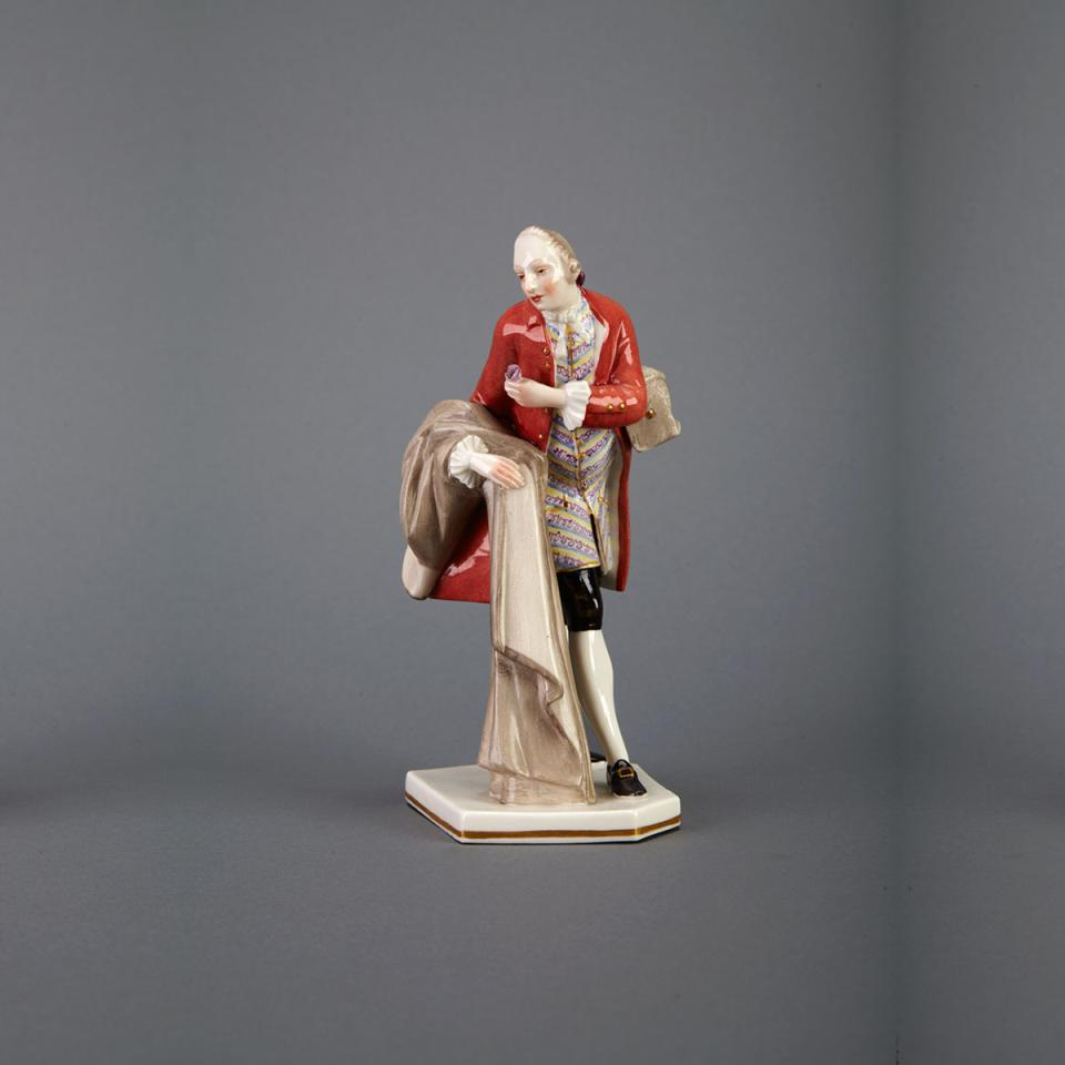 Nymphenburg Figure of a Gallant, early 20th century
