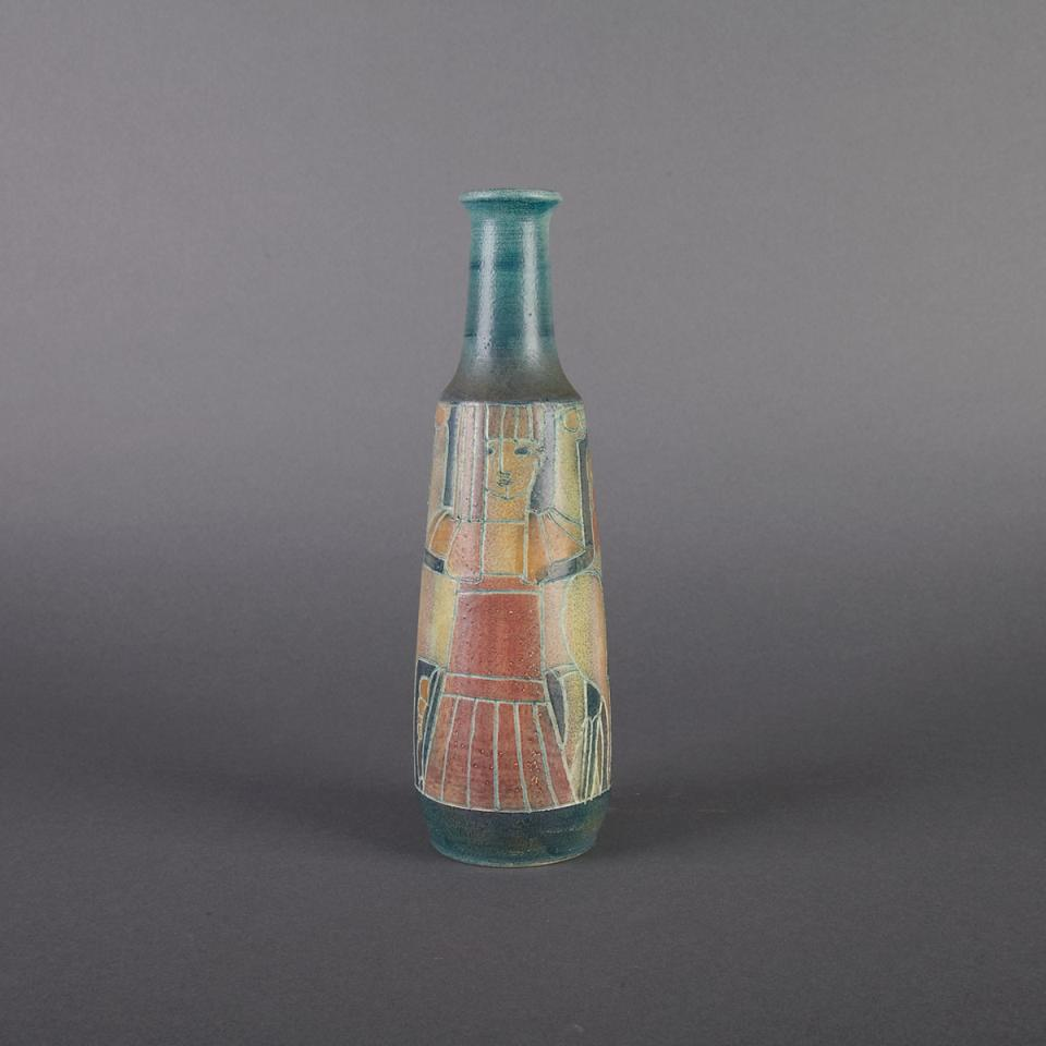 Brooklin Pottery Vase, Theo and Susan Harlander, mid-20th century