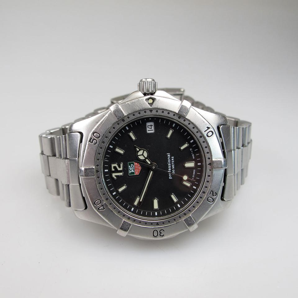 Tag/Heuer Wristwatch With Date