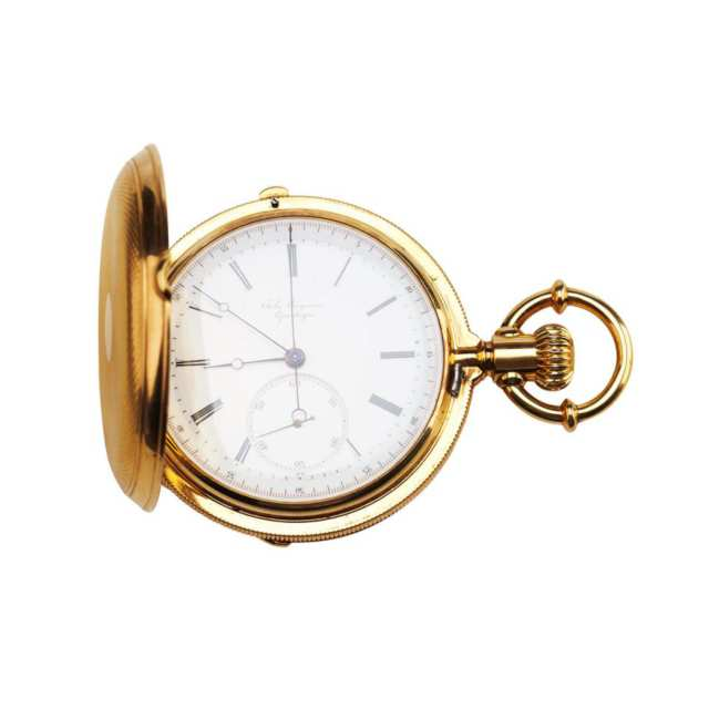 Jules Jurgensen Chronograph Pocket Watch
