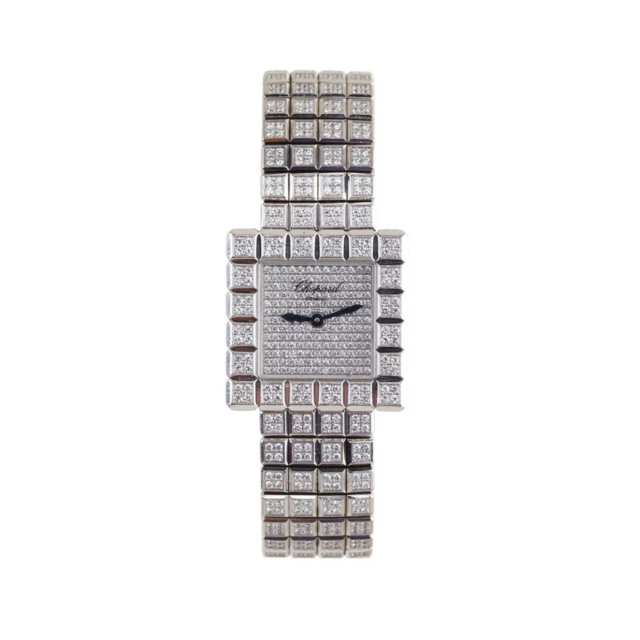 "Lady's Chopard ""Ice Cube"" Wristwatch"
