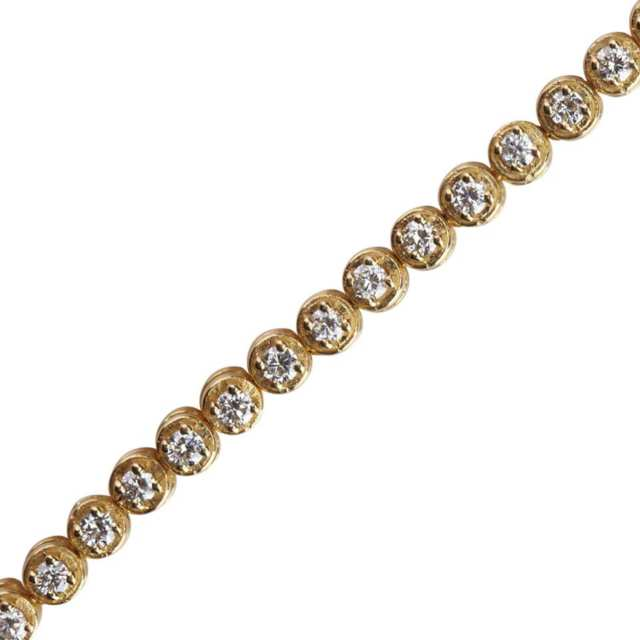 14k Yellow Gold Straightline Bracelet