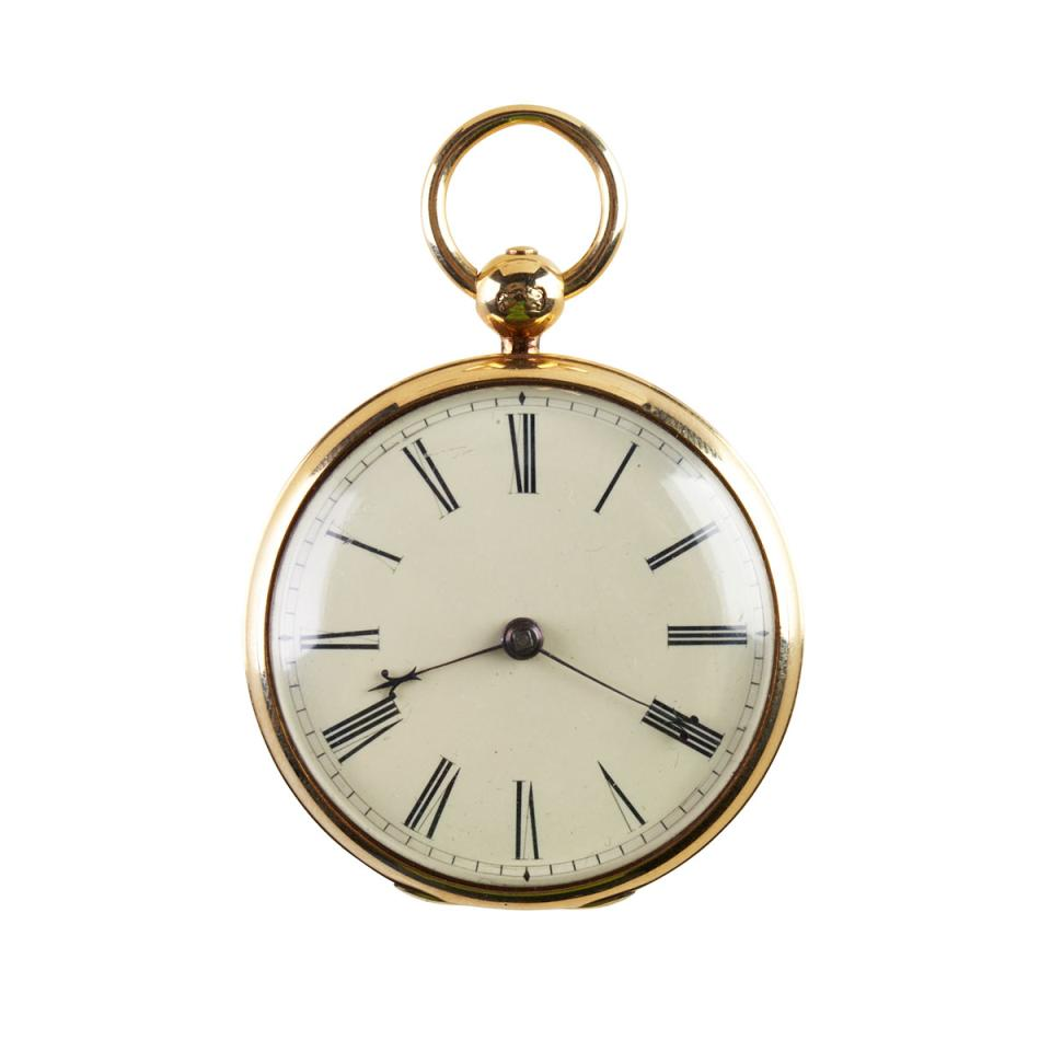 James Lepp Of Liverpool Pocket Watch