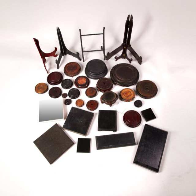 Group of 33 Assorted Stands