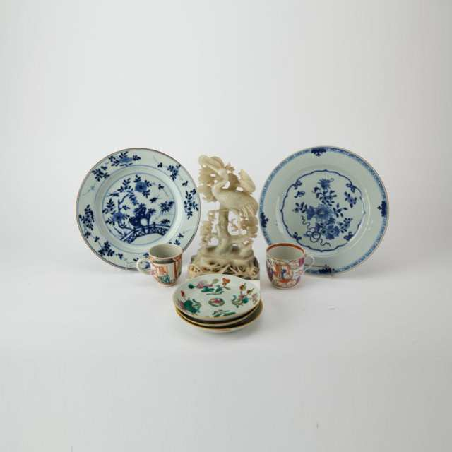 Group of Chinese Porcelain Pieces