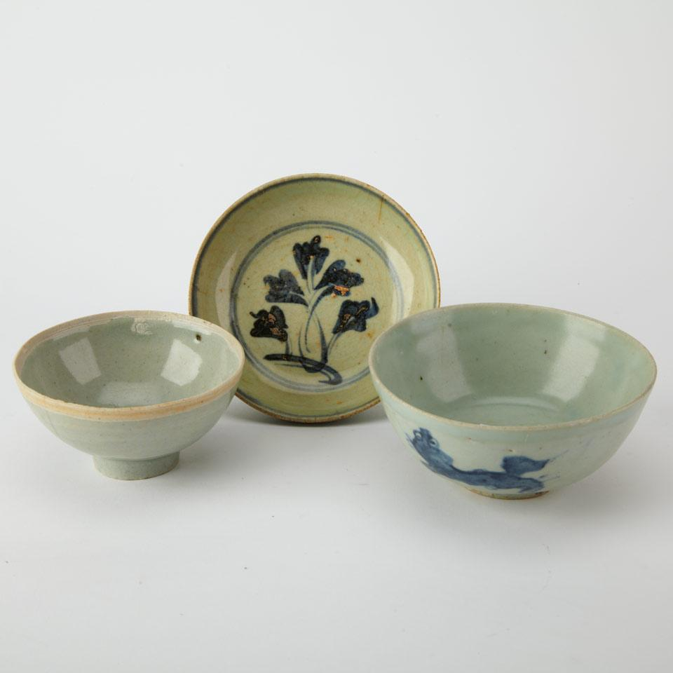 Small Blue and White Bowl, 16th/17th Century