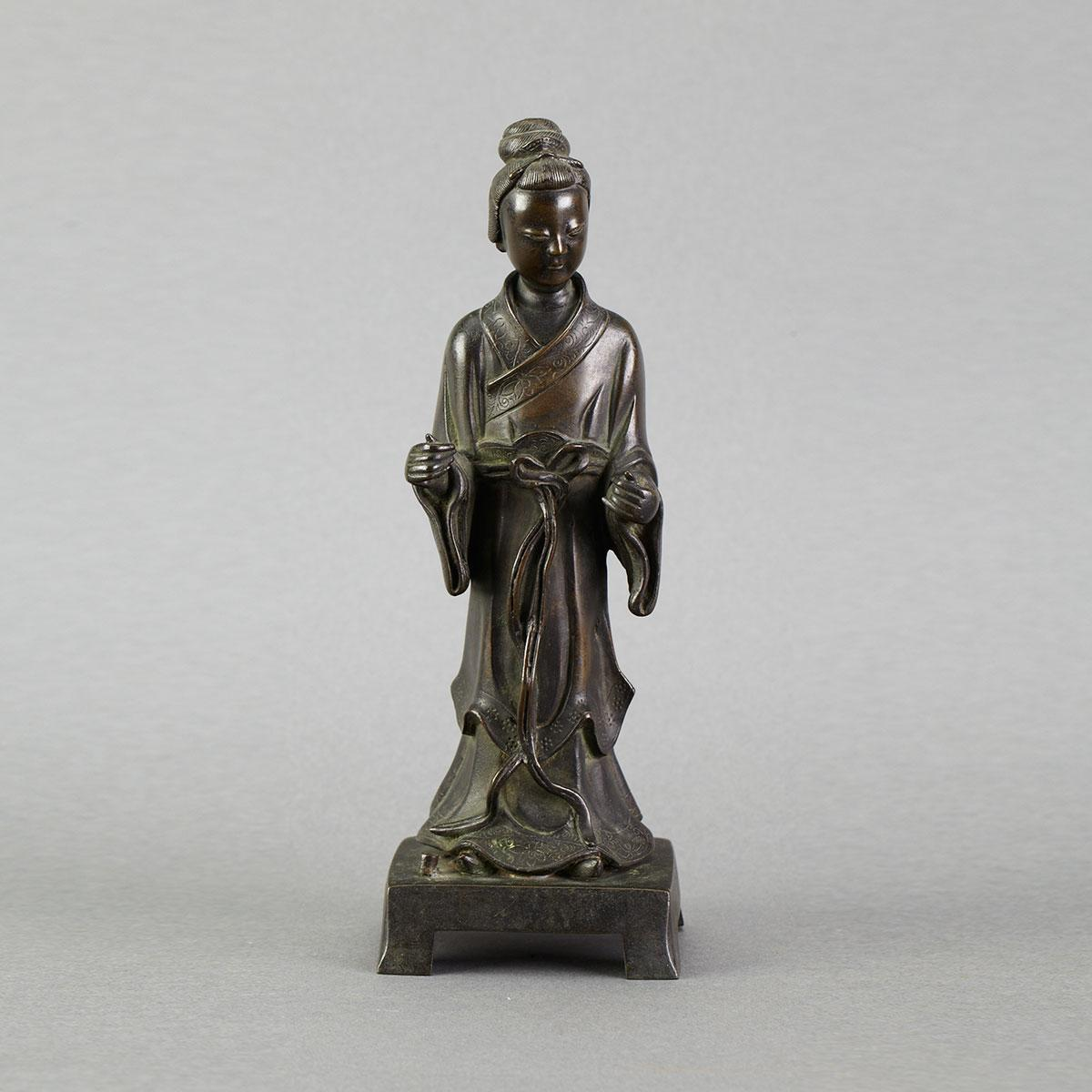 Bronze Model of a Bijin, Early 20th Century