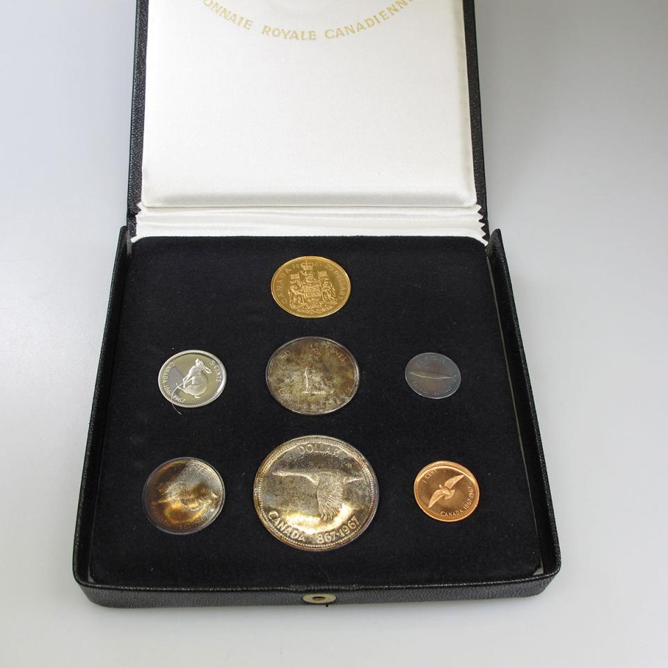 Canadian 1967 Coin Set
