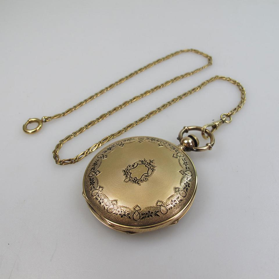 Mathile Brothers Keywind Pocket Watch