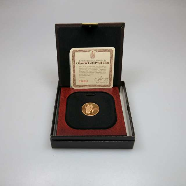 Canadian 1976 $100 Gold Coin