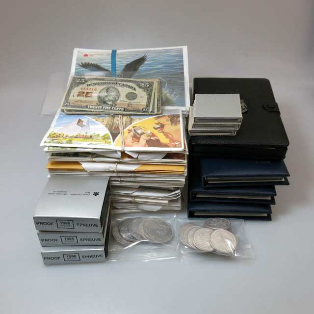 Quantity Of Coins And Canadian Mint Product