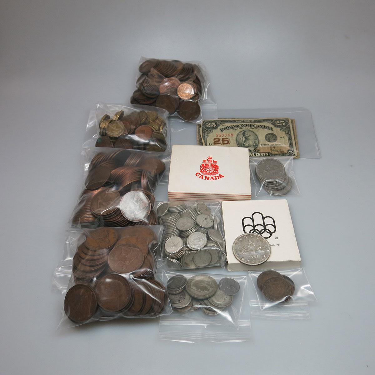 Quantity Of Various Coins