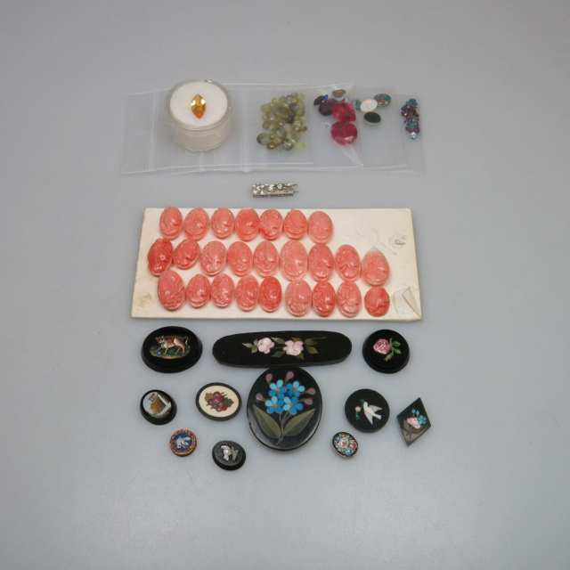 Quantity Of Unmounted Gemstones And Jewellery Inserts