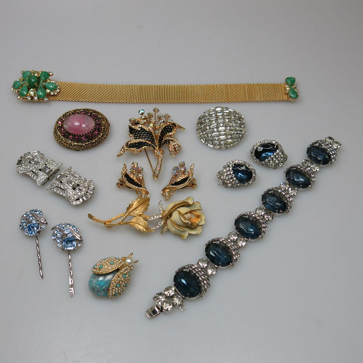 Quantity Of Costume And Gold-Filled Jewellery