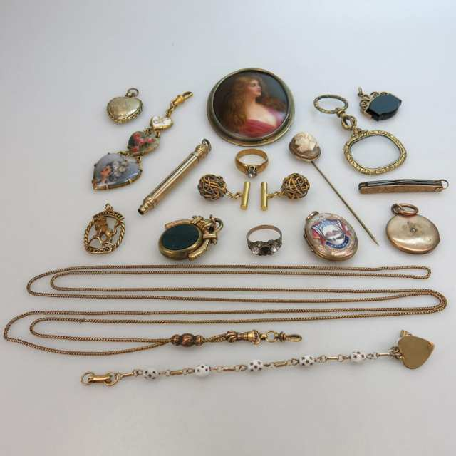 Quantity Of Gold-Filled Jewellery