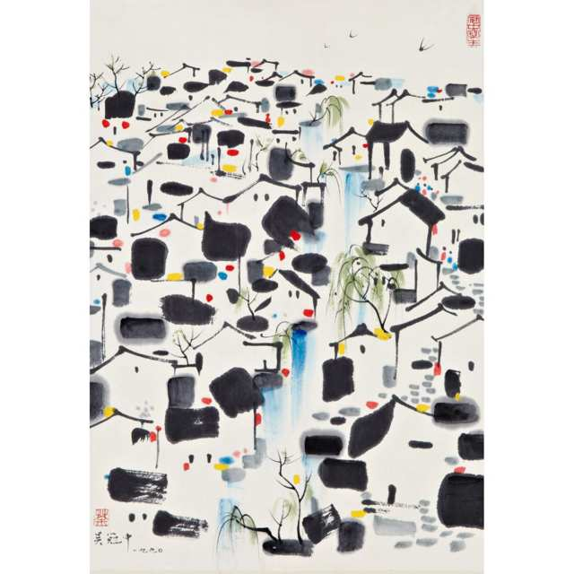 After Wu Guanzhong (1919-2010)