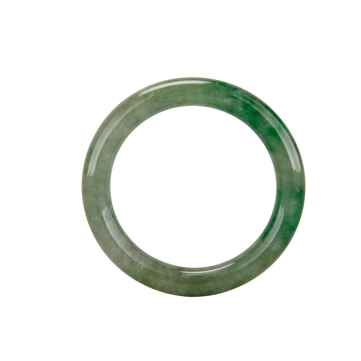 Apple Green Jadeite Bangle