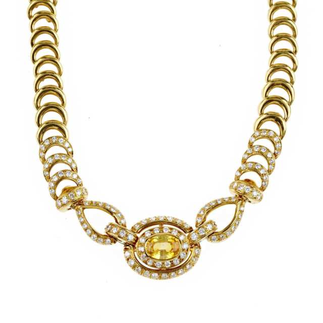 Italian 18k Yellow Gold Necklace