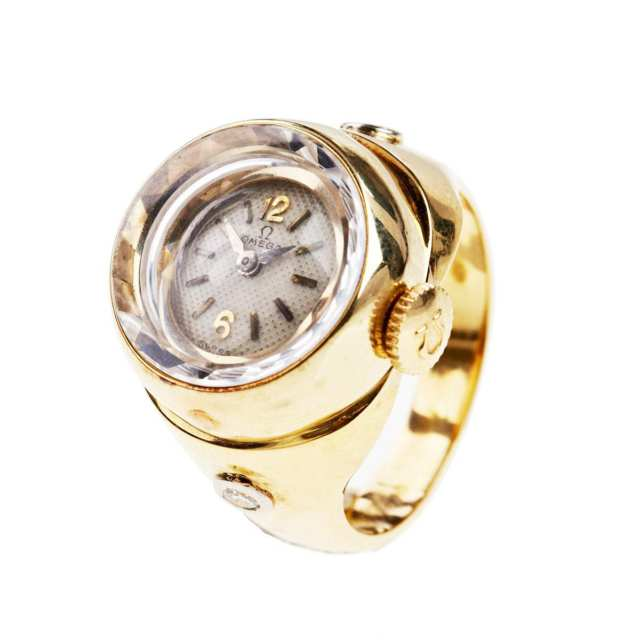 Lady's Omega Ring Watch