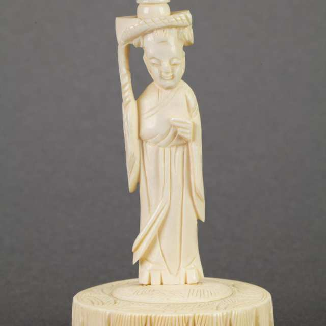 Group of Ivory Carvings