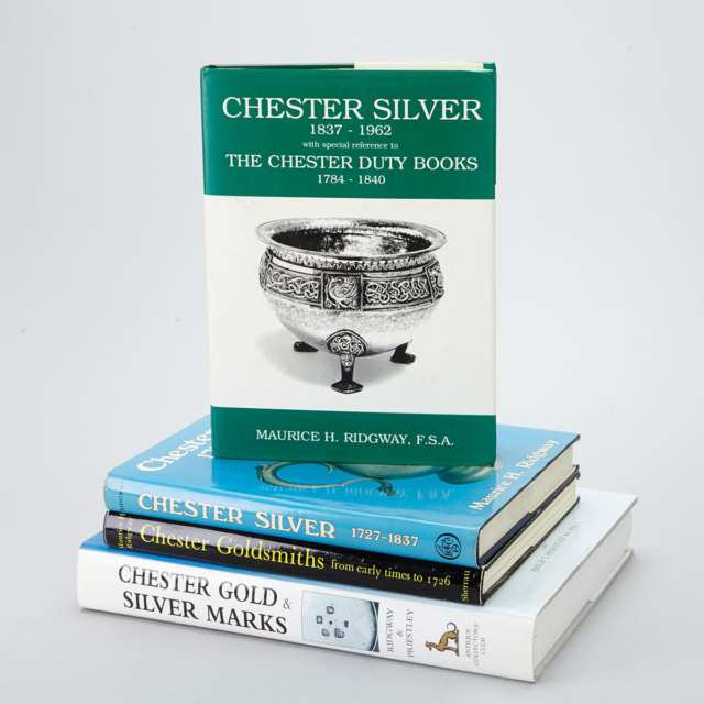 [Reference Books] Chester Silver and Gold, Four Volumes