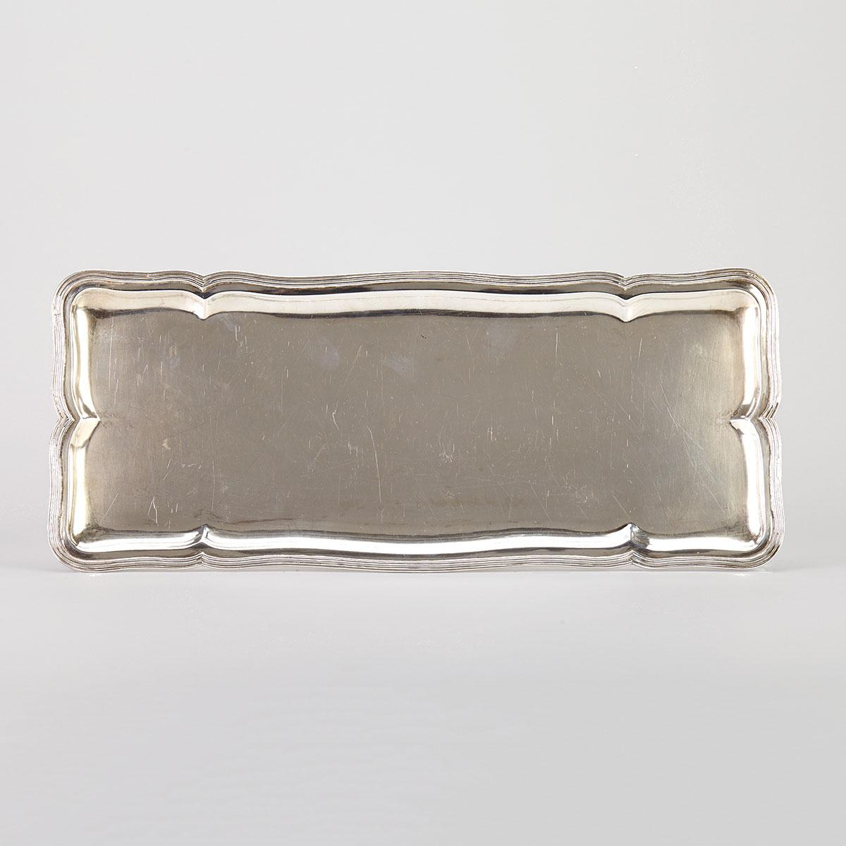 Columbian Silver Cocktail Tray, Bogota, mid-20th century