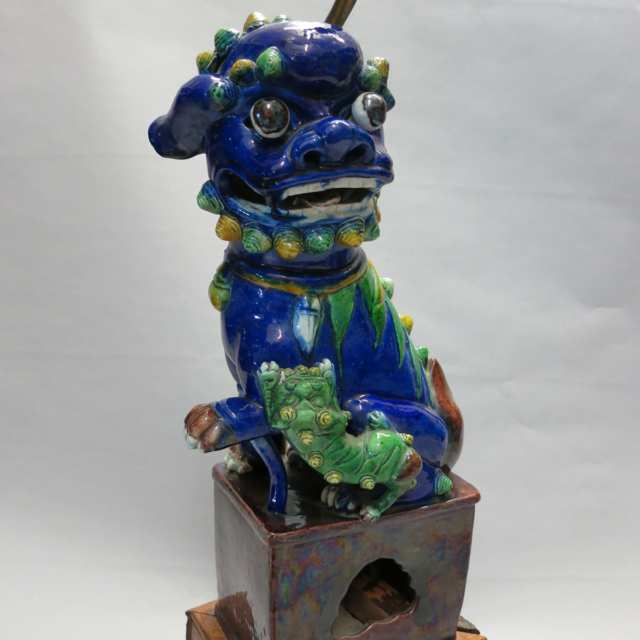 Sancai Glazed Fu-lion, First Half 20th Century