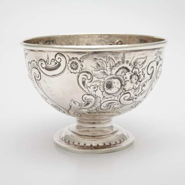 Edwardian Silver Footed Bowl, Chester, 1903