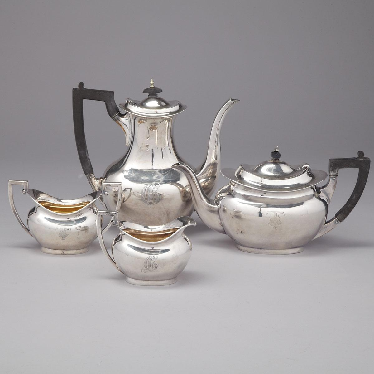Canadian Silver Tea and Coffee Service, Roden Bros., Toronto, Ont., early 20th century