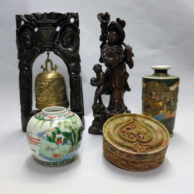 Five Assorted East Asian Items, China and Japan