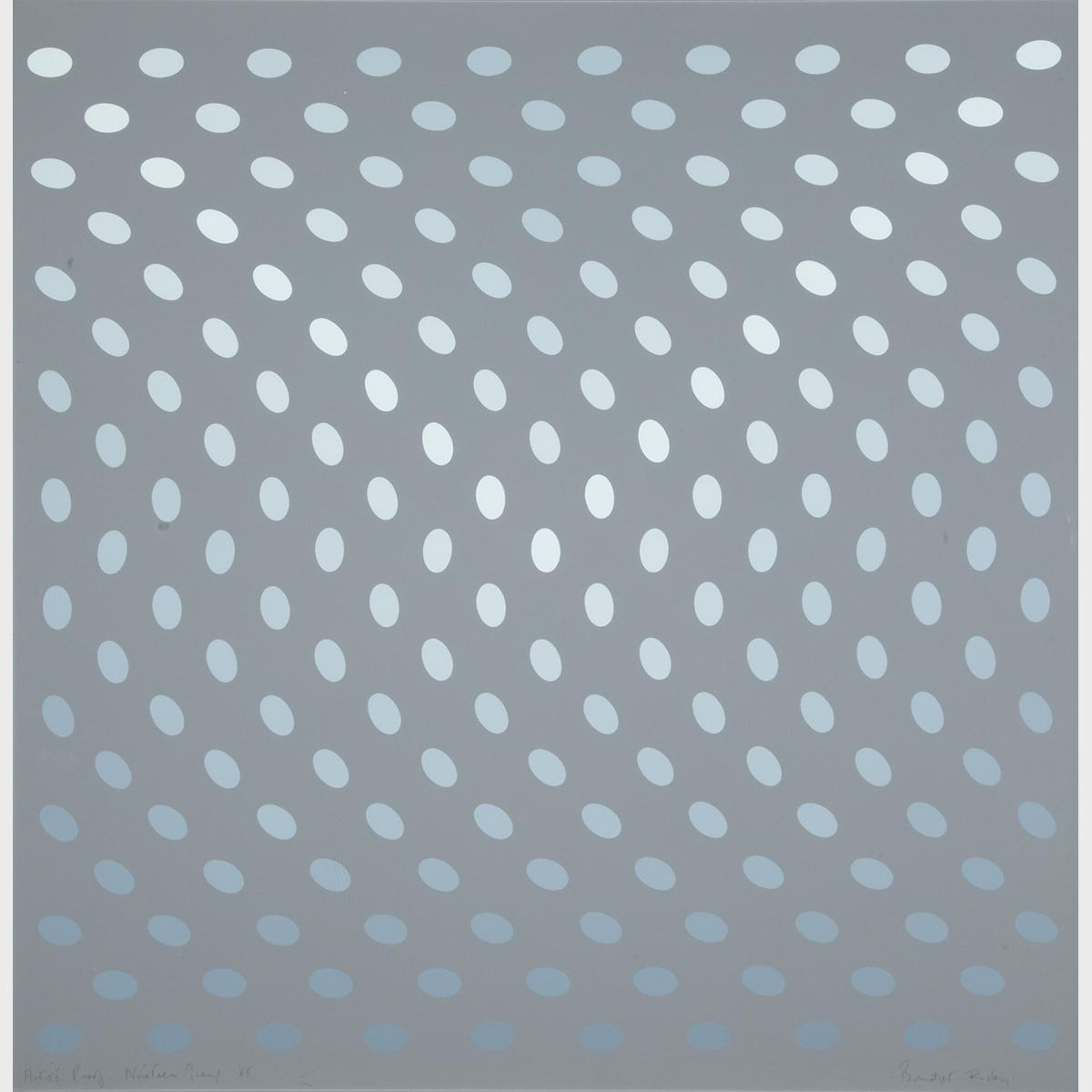 Bridget Riley (1931- )