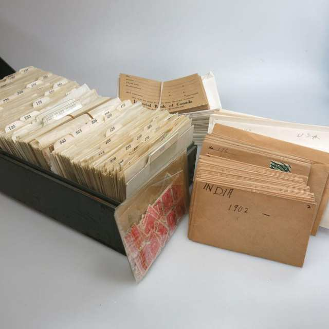 Quantity Of Loose Stamps