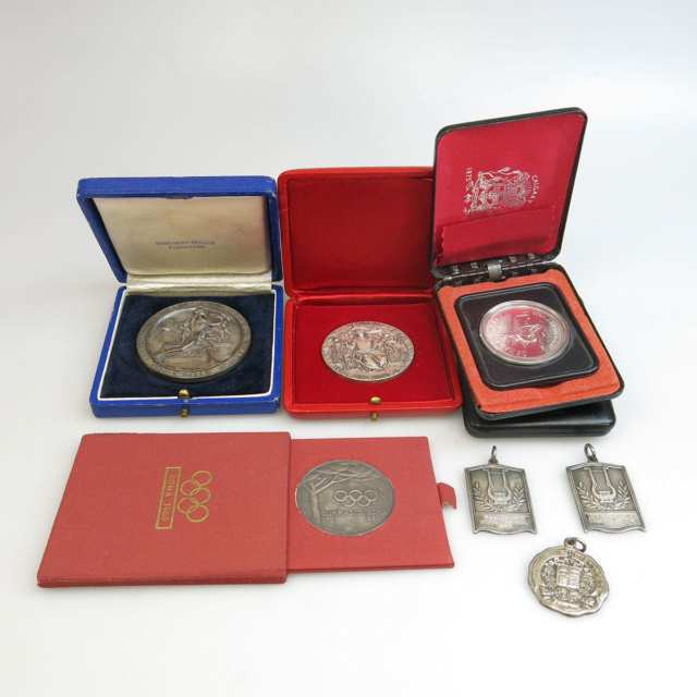 2 Medallions For The 1960 Rome Olympics