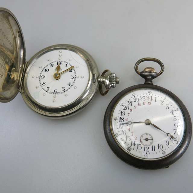 Buren Pocket Watch For The Visually Impaired