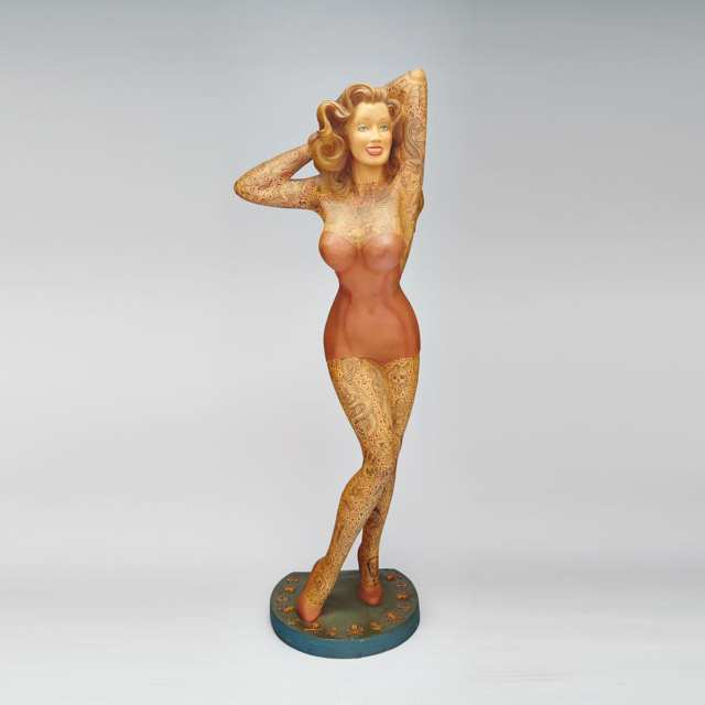 Figure of a Tattooed Woman by Jonathan Shaw