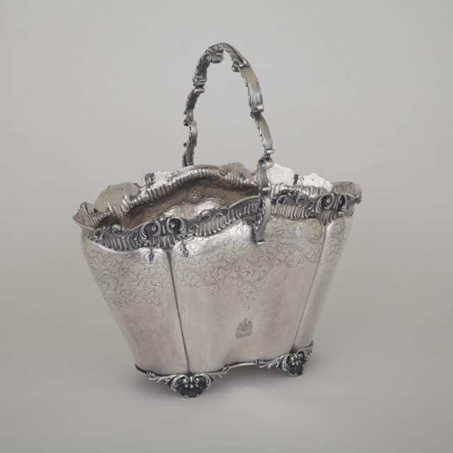 Italian Silver Wine Cooler, for Henry Birks of Montreal, c. 1910