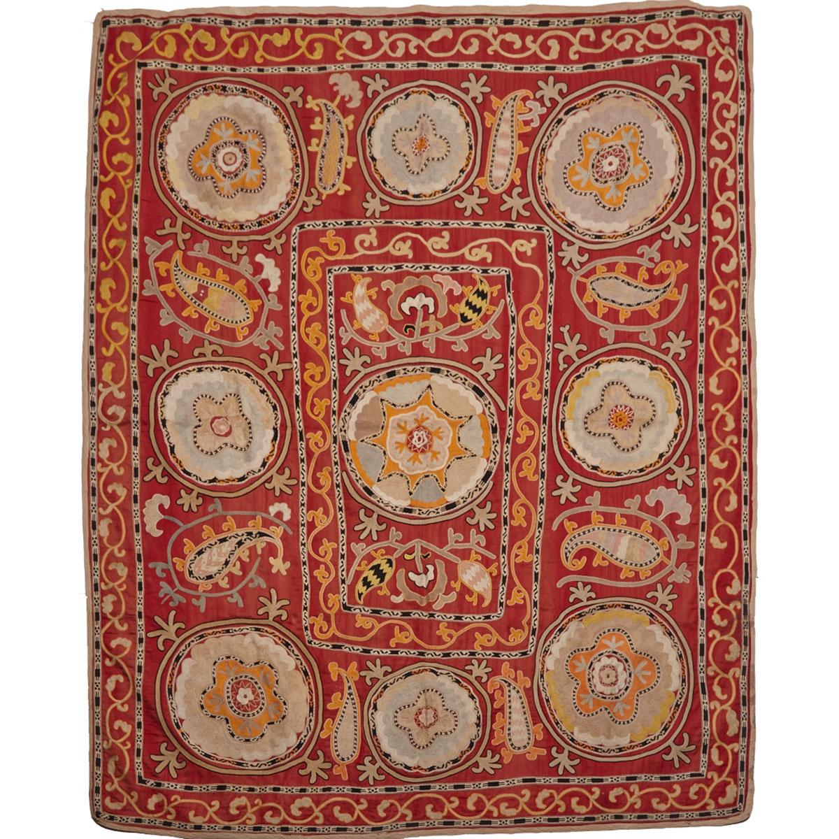 Large Dining Cloth, Sofreh, Persia, 20th Century