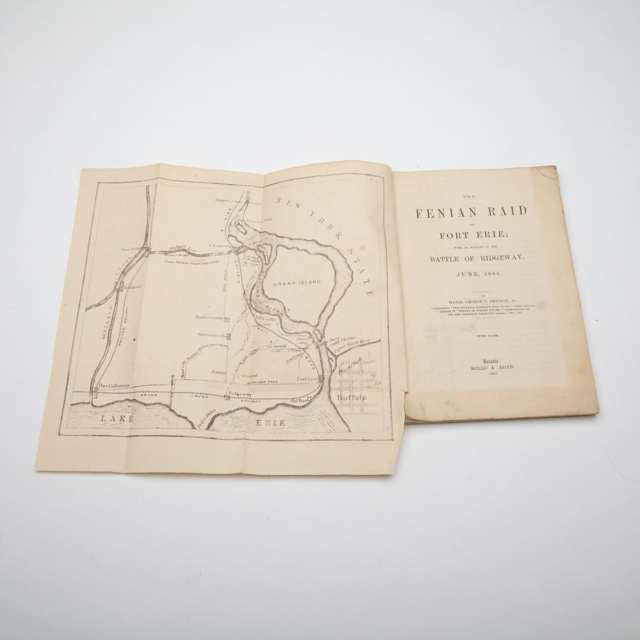 Pamphlet: The Fenian Raid on Fort Erie; with an Account of the Battle of Ridgeway, Major George T. Denison, Jr., June 1866
