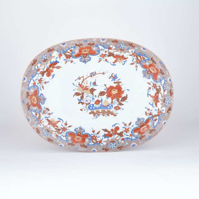 English Ironstone Oval Platter, c.1810
