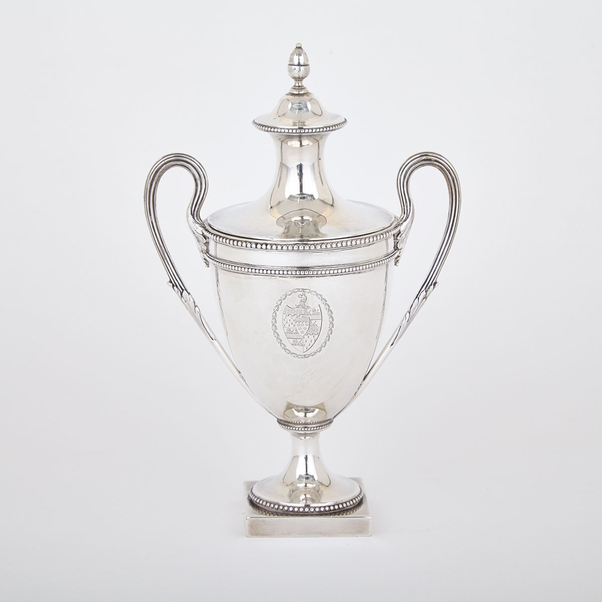 George III Silver Sugar Vase, Richard Carter, Daniel Smith & Robert Sharp, London, 1778
