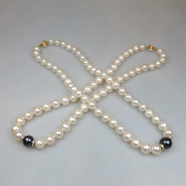 Two Freshwater Pearl Necklaces