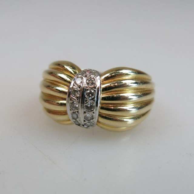 14k Yellow And White Gold Ring