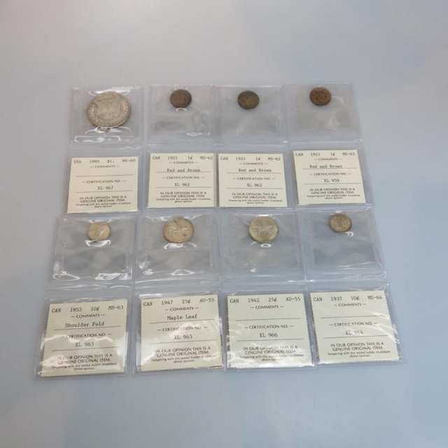Small Collection Of Graded Coins