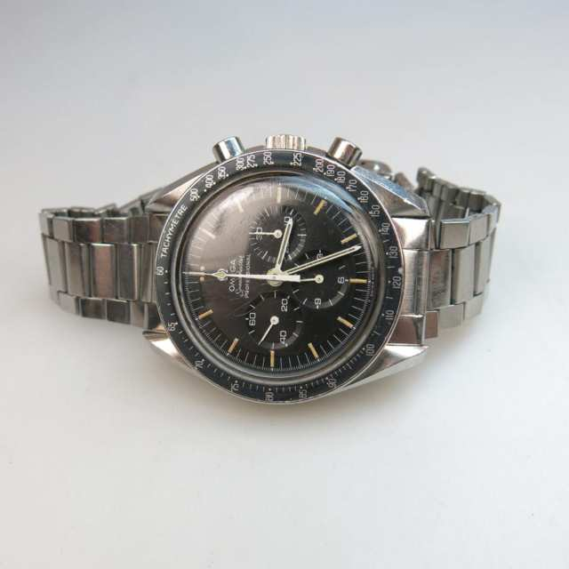 Omega SpeedMaster Professional Wristwatch With Chronograph