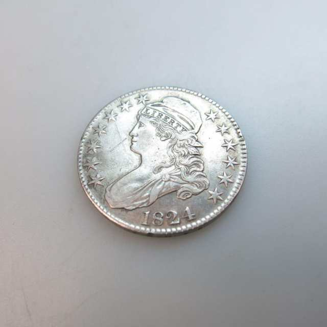 American 1824 Fifty Cent Coin