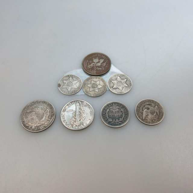 8 American Silver Coins